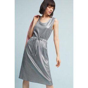 Dolan Left Coast | Silver Metallic Knit Dress